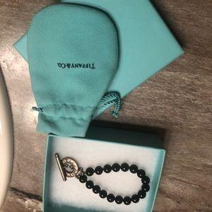 Tiffany & Co black bracelet